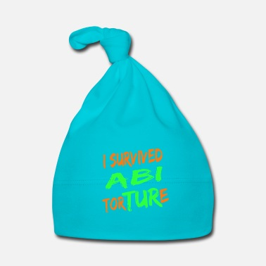 Gymnasium I survived Abi Torture - high school passed gift - Baby Cap