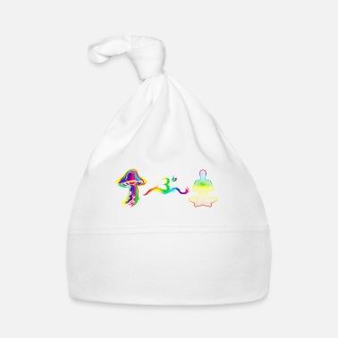 Om meditation goa psytrance Gift Idea - Baby Cap