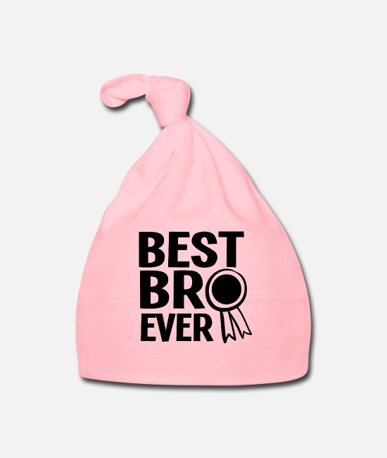 Uncle Baby Caps - Best brother award family funny gift - Baby Cap light pink