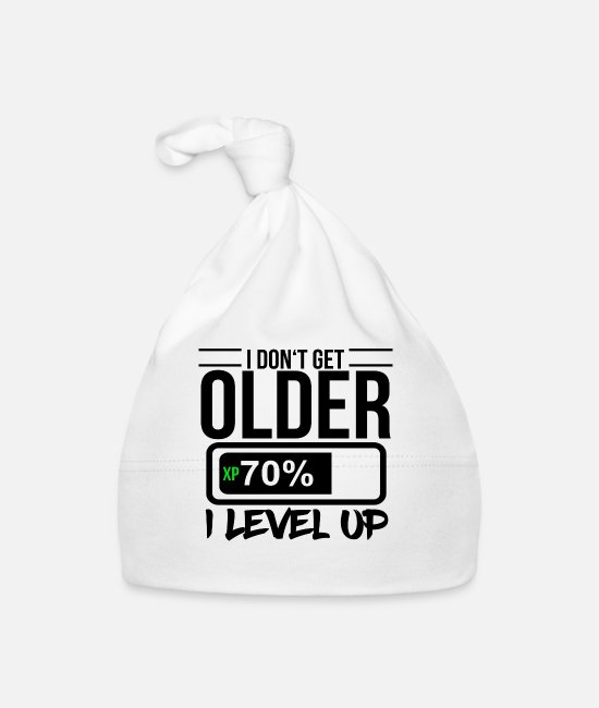 Gamepad Baby Caps - Gamer - Baby Cap white