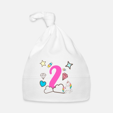 Girlish Girl 2nd birthday gift 2 year old - Baby Cap