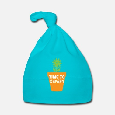 Bloom Time to Garden - Baby Cap