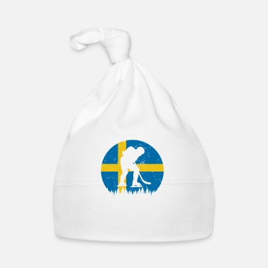 Issport Ishockey Sverige SE Eissport country flag vinter - Babyhue