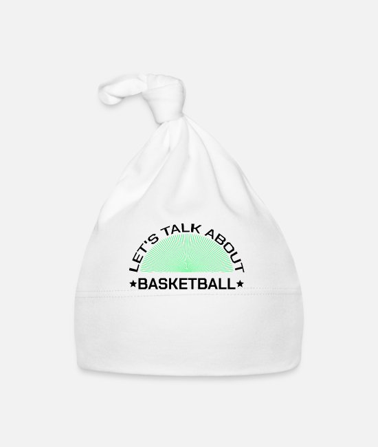 Throwing Baskets Baby Caps - Basketball basketball player player coach trainer - Baby Cap white