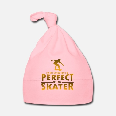 Christmas Skater T Shirt - I'm Not Saying That I'm Perfect - Babymütze