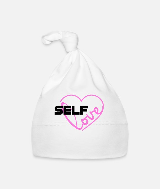 Be Yourself Baby Caps - Self Love Love Yourself You Are Amazing You Are - Baby Cap white