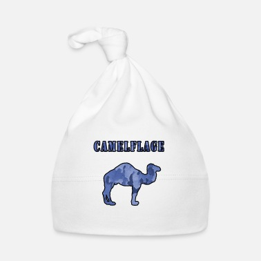 Camelflage Cold Blue Camo Colour - Baby Cap