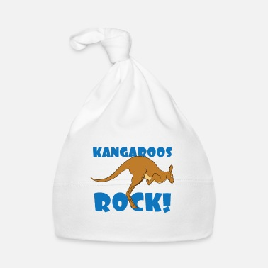 Cute Country T Kangaroo Lover Design - Kangaroos Rock! T-Shirt - Babymütze