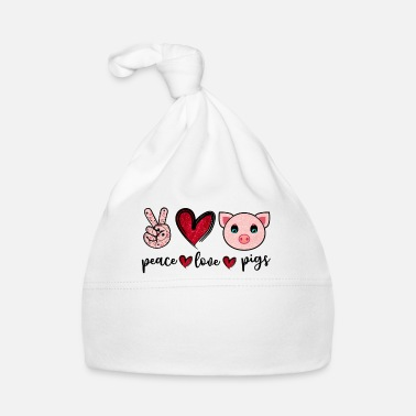 Pizza Peace Love Pigs Funny Pig Lover Farmer T-shirt - Babyhue