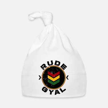 Rasta Rude Gyal black distressed - Babymütze