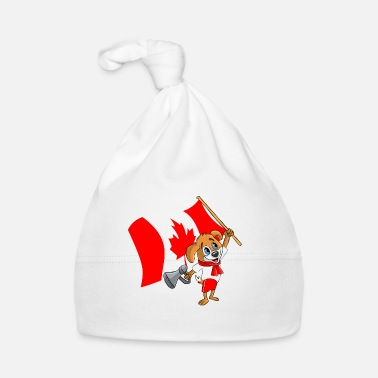Canada Canada fan dog - Baby Cap
