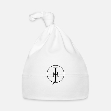 Jm JM Designs Black on White - Baby Cap