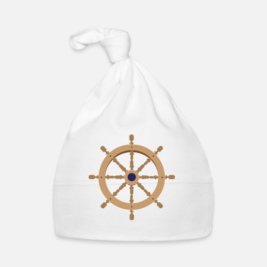 Bar Baby Clothes - boat bar - Baby Cap white