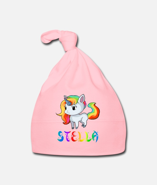Stella Unicorn Baby Caps - Stella unicorn - Baby Cap light pink