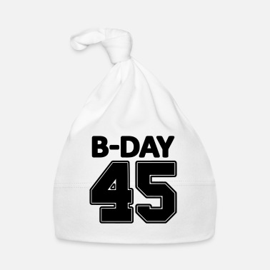 Number 45th Birthday / Numbers Number Number Number 45 - Baby Cap