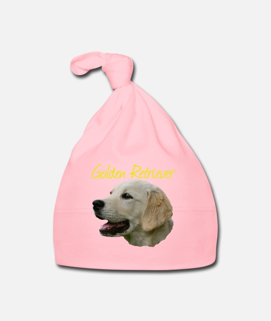 Obedience Baby Caps - Golden Retriever, Retriever, Dog , Dog Sport, - Baby Cap light pink