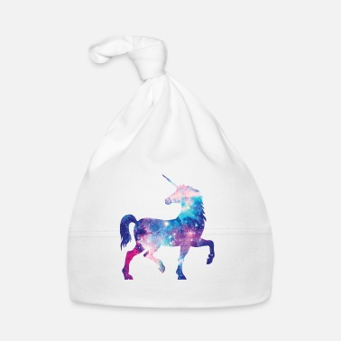 Unicorn with constellation design - Baby Cap