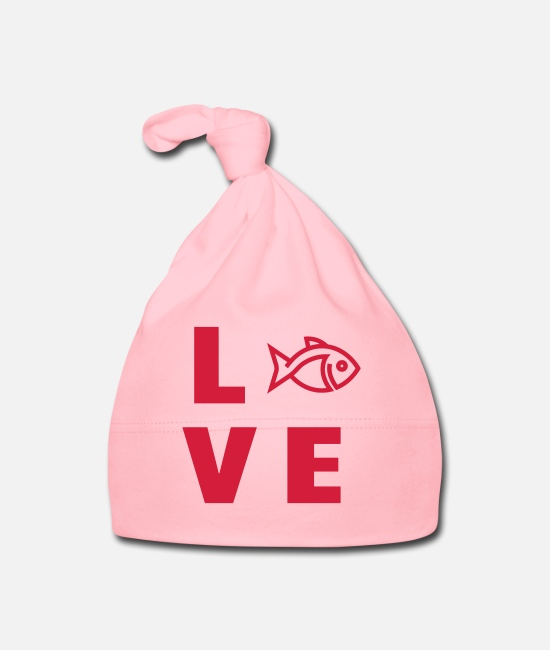 Gun Baby Clothes - Fishery Guardian Fishing Fischerei Pêche Fisch - Baby Cap light pink