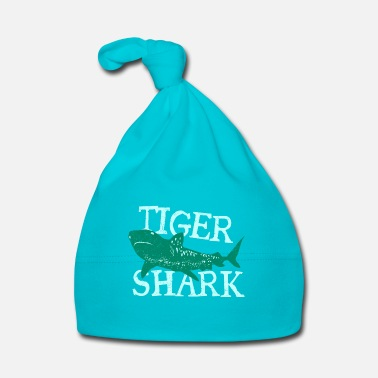 Fils Fish Tiger Shark Danger Diver Gift - Bonnet Bébé
