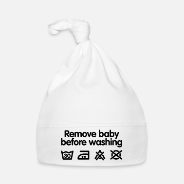 Grappig Remove baby before washing - Muts voor baby's