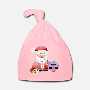 Job Underwear Santa 16 Merry Christmas - Baby Cap