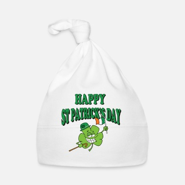 St Paddys Day Happy St Patrick's Day - Baby Cap