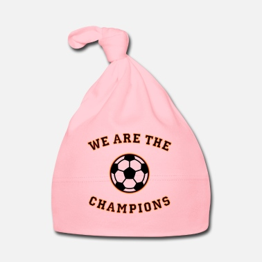 Schland We are the champions (black - red - gold) - Baby Cap