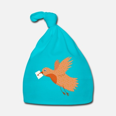 Collections Bird with letter in beak. - Muts voor baby's