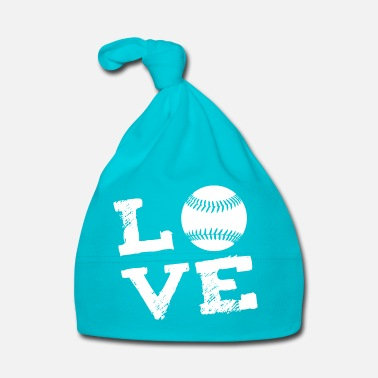 Softball LOVE - Softball - Baby Cap
