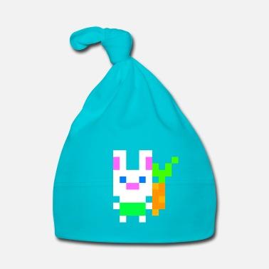 Lapin De Pâques Bunny Pixel Pixel Art Idée Cadeau Pâques T
