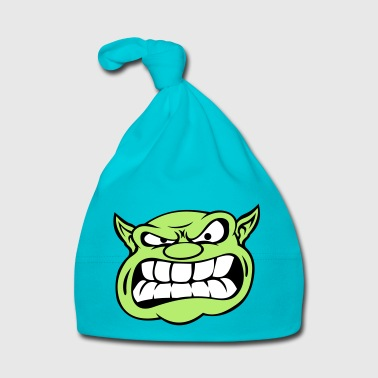 Angry Orc Mascot Head - Baby Cap