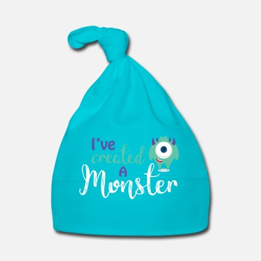 Ouders Ouders - kind - Partnerlook - Monster ouders - Muts voor baby's