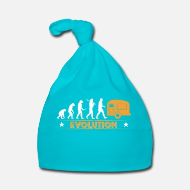 Orgoglio Camping Evolution - orange/weiss - Cappellino neonato