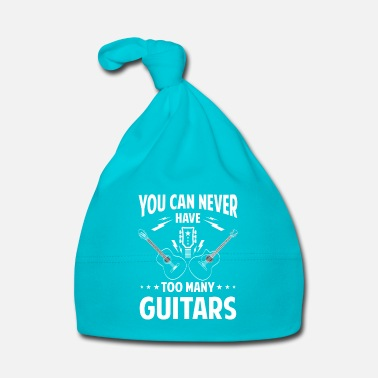 Banda You can never have too many guitars - rock band - Gorro bebé