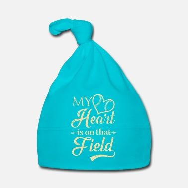 Weekend My heart is on that field - baseball team - Bonnet Bébé