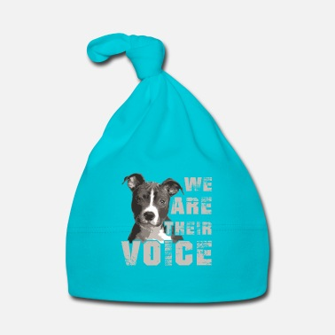 Rap We are theit voice - cute puppy  - Gorro bebé
