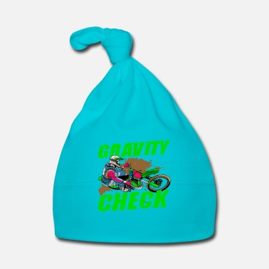 Dirt Bike Gravity Check - Dirt Bike Motocross - Baby Cap