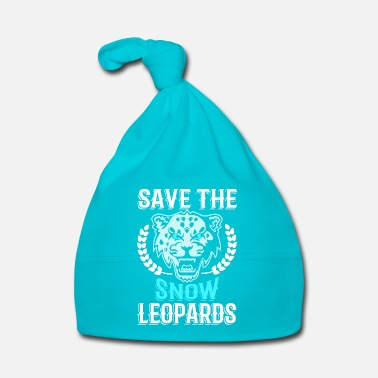 Global Save the Snow Leopards - animal extinction - Bonnet Bébé