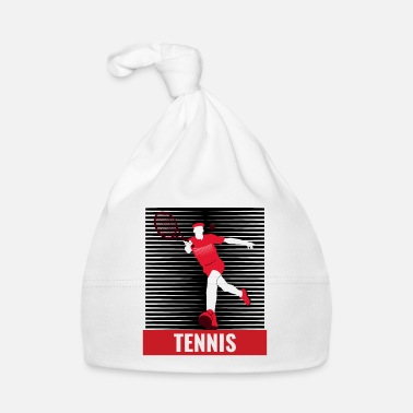Tennis Tennis tennis player tennis court - Baby Cap