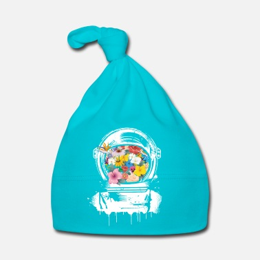 Collections Astronaut Space Helmet with flowers - Baby Cap