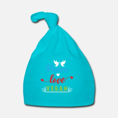 Bio Peace Love Vegan - Bonnet Bébé