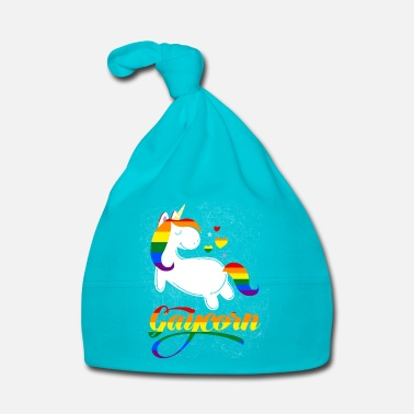 Pride Gaycorn - Gay Unicorn - Bonnet Bébé