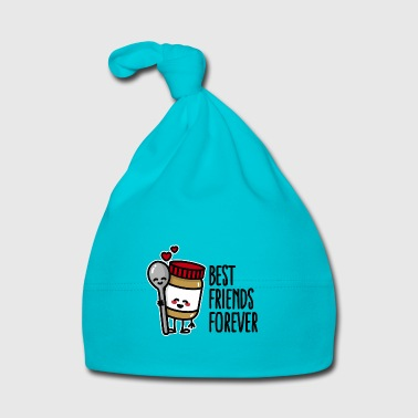 Best friends forever peanut butter / spoon BFF - Baby Cap