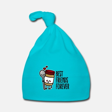 Hambre Best friends forever peanut butter / spoon BFF - Gorro bebé