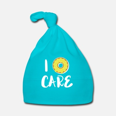 Carré I don't care  / I Donut care - Bonnet Bébé