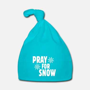 Snowboard pray for snow ii - Cappellino neonato