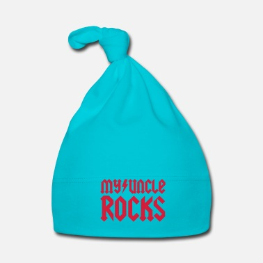 Oro My uncle rocks - Cappellino neonato