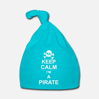 Keep Calm keep calm I'm a pirate kg10 - Bonnet Bébé