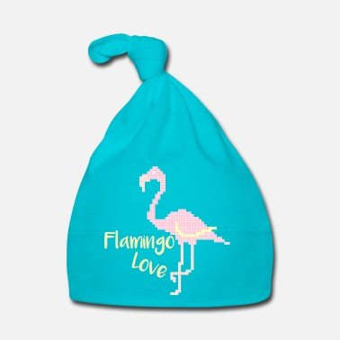 Love Flamingo Love - Babymütze