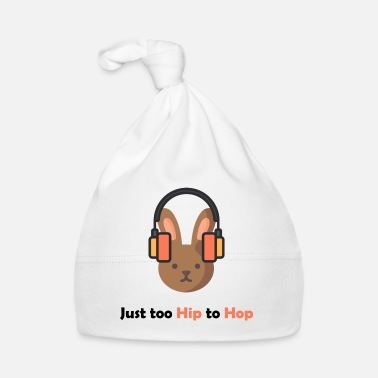 Hiphop Bare for hip til hop bunny med hiphophoved - Babyhue